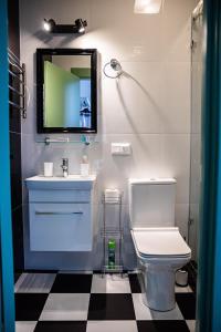A bathroom at Fabrika Hotel
