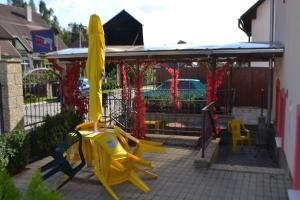 Herní místnost nebo prostor pro děti v ubytování Penzion Abahouse