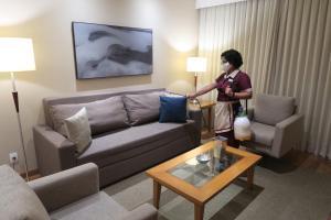 Гостиная зона в George V Residence Casa Branca