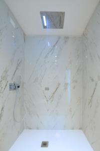 Koupelna v ubytování Alla Pergola