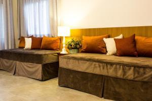 Uma área de estar em Recanto Da Paz Hotel Fazenda