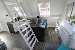 Een keuken of kitchenette bij Appartement Klein Waldeck