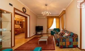 A seating area at Zvenigorod Resort Merii