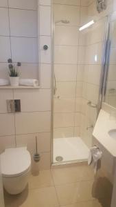 A bathroom at Hotel Senator