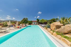 The swimming pool at or near Residence Hotel Lu Nibareddu