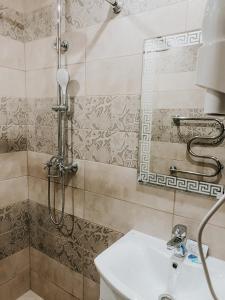 A bathroom at Hotel Chinar