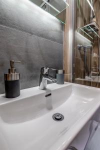 Koupelna v ubytování Mini apartmán Miró