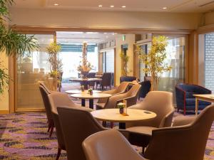 The lounge or bar area at Rihga Hotel Zest Takamatsu