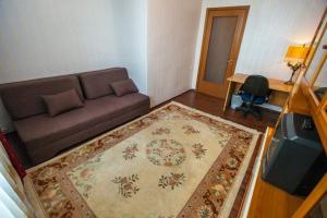 Гостиная зона в Апартаменты Брусника Красносельская