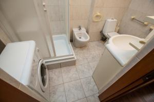 Ванная комната в Апартаменты Брусника Красносельская