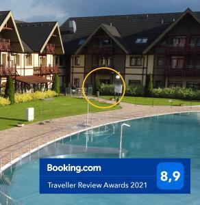 Bazén v ubytování Apartmán ELIZABETH nebo v jeho okolí