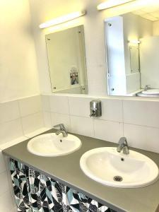 Ванная комната в Хостел Заходи на Павелецкой