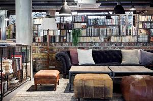 A seating area at The Hoxton, Shoreditch