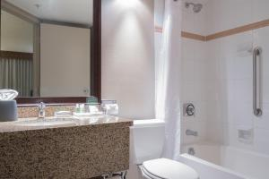 A bathroom at Holiday Inn Vancouver Downtown & Suites, an IHG Hotel