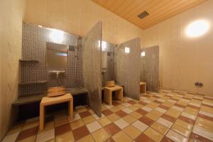 A bathroom at Onyado Nono Namba Natural Hot Spring