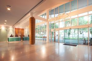 The lobby or reception area at Village Hotel Changi by Far East Hospitality (SG Clean)