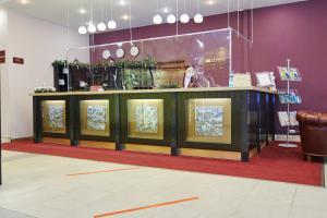 Лобби или стойка регистрации в Отель Сыктывкар