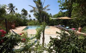 The swimming pool at or near Bellevue Guesthouse