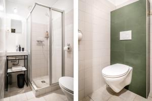 Ein Badezimmer in der Unterkunft Hotel het Anker van Texel