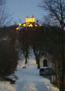 Apartman Okamih Banská Štiavnica v zime