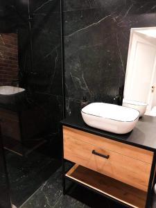 Łazienka w obiekcie Zajazd Ryś
