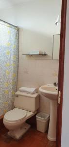 A bathroom at Sori Apartments