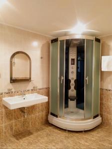 Ванная комната в Отель Саратов