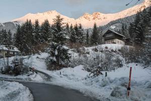 2 Chalets Innsbruck during the winter