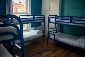 Un ou plusieurs lits superposés dans un hébergement de l'établissement Paddy's Palace Belfast
