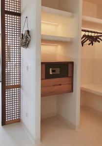 A bathroom at Pilos Deluxe