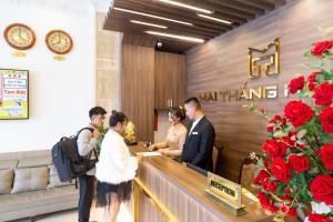 The lobby or reception area at Mai Thang Hotel Da Lat