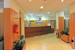 A área de receção ou átrio de Hotel Bienestar Termas de Moncao