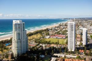 A bird's-eye view of Oracle Resort Broadbeach - GCLR
