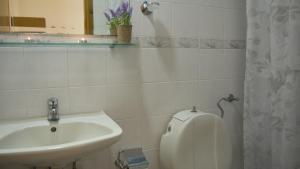 Ένα μπάνιο στο Fani Hotel