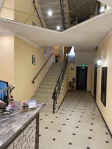 The lobby or reception area at Sheremetievo-Transit Hotel