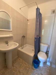 A bathroom at Гостевой дом Елизавета