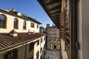 A balcony or terrace at Parione Uno