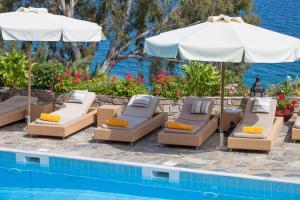 Басейн в или близо до Aegean Suites Hotel