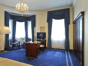 A television and/or entertainment center at Hotel Ambassador
