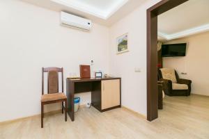 Телевизор и/или развлекательный центр в Мини-отель Прогресс