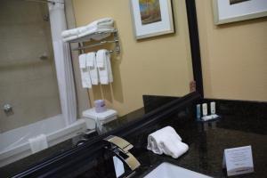 A bathroom at Quality Inn Bracebridge