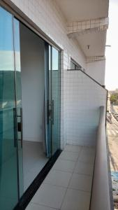 A balcony or terrace at Residencial Ocean Palace