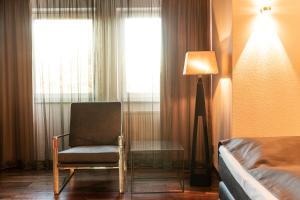 Ein Sitzbereich in der Unterkunft Mauritius Hotel & Therme