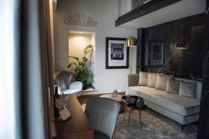 Area soggiorno di Hotel Sole Al Pantheon