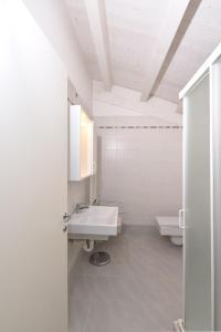 Koupelna v ubytování Residence Gianka