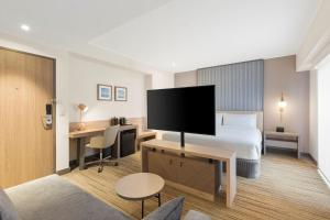 A television and/or entertainment centre at Holiday Inn Express - Lima San Isidro