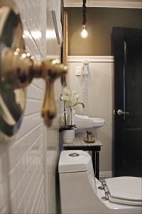 A bathroom at Vinnhaus