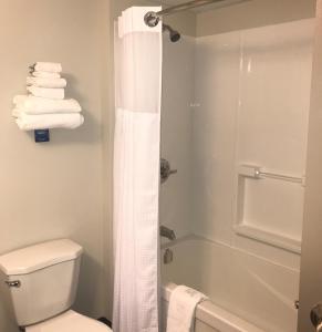 A bathroom at Travelodge by Wyndham Sydney