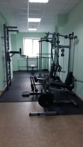 The fitness centre and/or fitness facilities at Silver Horse Boutique Hotel