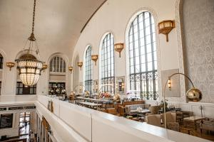 A restaurant or other place to eat at The Crawford Hotel at Union Station
